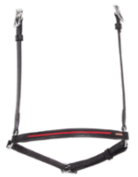Hannoveran noseband with pattern stripe
