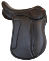 S saddle with long kneeblocks
